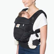Ergobaby Baby Carrier Adapt Infant to Toddler Carrier with Cool Air Mesh, Onyx Black