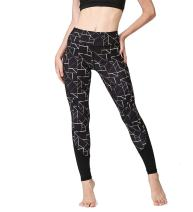 VESONNY Women Yoga Leggings Workout Pants - Stretchy Yoga Capris Tights for Fitness Gym Running