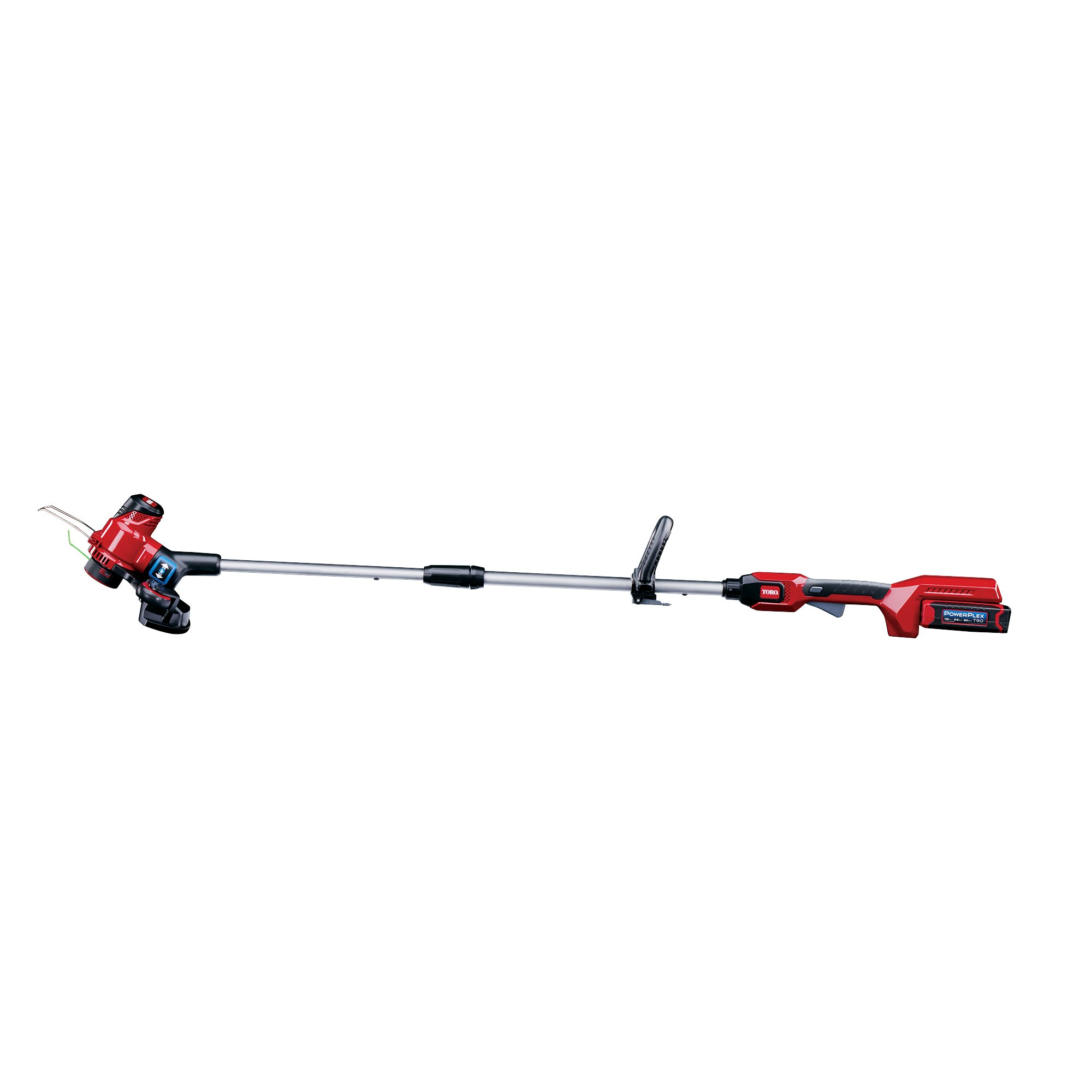 """Toro PowerPlex 51481 40V MAX Lithium Ion 13"""" Cordless String Trimmer/Edger, 2.5 Ah Battery & Charger Included"""