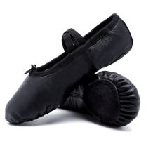 CIOR Ballet Slippers Leather Dance Shoes Yoga Gymnastics Flats(Toddler/Little/Big Kid/Women)