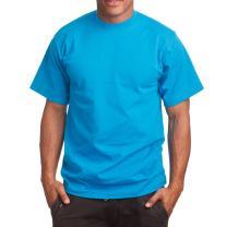 Super Heavy Mens T-Shirt, 2XL Tall, Turquoise