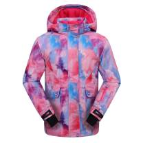 PHIBEE Women's Outdoor Waterproof Snowboard Breathable Snow Ski Jacket