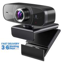 Webcam 1080P with Microphone HD Web Cam, Vitade 826M USB Computer Web Camera Video Cam for Streaming Gaming Conferencing Mac Windows PC Laptop Desktop Xbox Skype OBS Twitch YouTube Xsplit