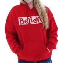 Believe Christian Jesus Christ God Lord Hoodie