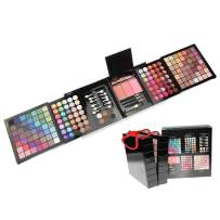 Professional Eyeshadow Palette 177 Colors All In One Makeup Kit - Ultimate Color Combination Set with Eye Shadow Palettes,Eyebrow,Concealer,Lip Gloss,Contour,Blush,Brush