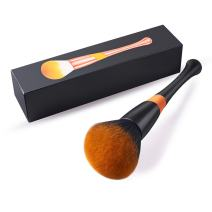 Powder Makeup Brush, FITDON Professional Kabuki Brush for Face Full Coverage Mineral Powder Foundation Blending Blush Buffing Applicator Made with Cruelty Free Synthetic Bristles