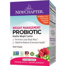 New Chapter Weight Management probiotic - 30 Count