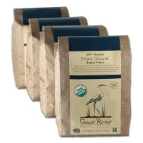 Great River Organic Milling Organic Barley Flour, 5 Pound (Pack of 4)