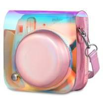 Fintie Protective Case for Fujifilm Instax Mini 8 Mini 8+ Mini 9 Instant Camera - Portable Bag Cover with Removable Strap, Aurora