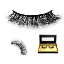 Cuckoo Lashes 100% Hand-made Mink Eyelashes False Eyelash Mink 3D Long and dense Lashes 1 Pair Package FL06H Cuckoo Lashes