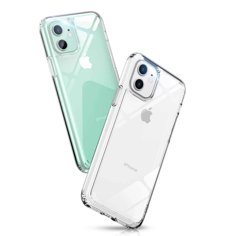 Aunote Clear iPhone 11 Case, Ultra Slim Shockproof Protective iPhone 11 Case, Durable TPU iPhone 11 6.1 Cases, Anti-Bump & Anti-Yellow & Anti-Scratch Hard Cover Transparent