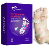 Foot Peel Mask, Foot Mask for Dry Cracked Feet Peel, Peeling Away Calluses and Dead Skin Remover, Exfoliating Your Feet Baby Soft(2 Pairs/Box) by YOUPINWEI