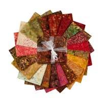 Timeless Treasures Tonga Treats Batiks Fat Quarter Bundle 20 Pcs Spark