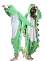 Adult Caterpillar Onesies Animal Pajamas Xmas Costume for Women Men