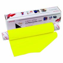 """Dycem Non-Slip Material Roll, Yellow, 8"""" X 6.5 ft"""