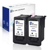 BJ Remanufactured Ink Cartridges Replacement for Canon PG-240XL 240 XL for Canon Pixma MG3620 TS5120 MG2120 MG3520 MX452 MX512 MX532 MX472 MG3120 MG3122 MG4120 MX432 High Yield (2 Black)