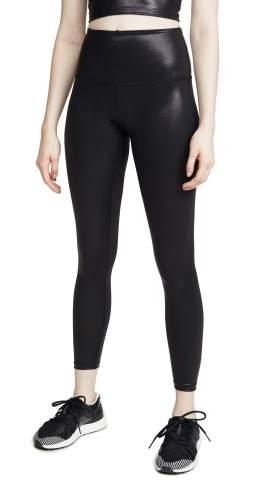 Beyond Yoga Women's Pearlized Microstretch High Waist Midi Legging