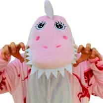 iSZEYU Dinosaur Onesie Animal Costumes Plush One Piece Pajamas for Adults Teens