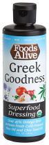 Superfood Dressing, Greek Goodness, Organic, 8oz