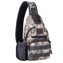 Lixada Tactical Sling Bag Pack Military Water Bottle Bags Shoulder Backpack