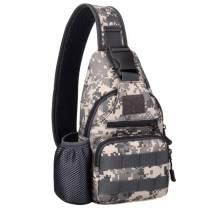 Lixada Tactical Sling Bag Pack Military Water Bottle Bags Shoulder Backpack