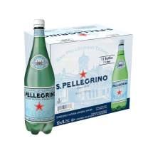 S.Pellegrino Sparkling Natural Mineral Water, 33.8 fl oz. (12 Pack)