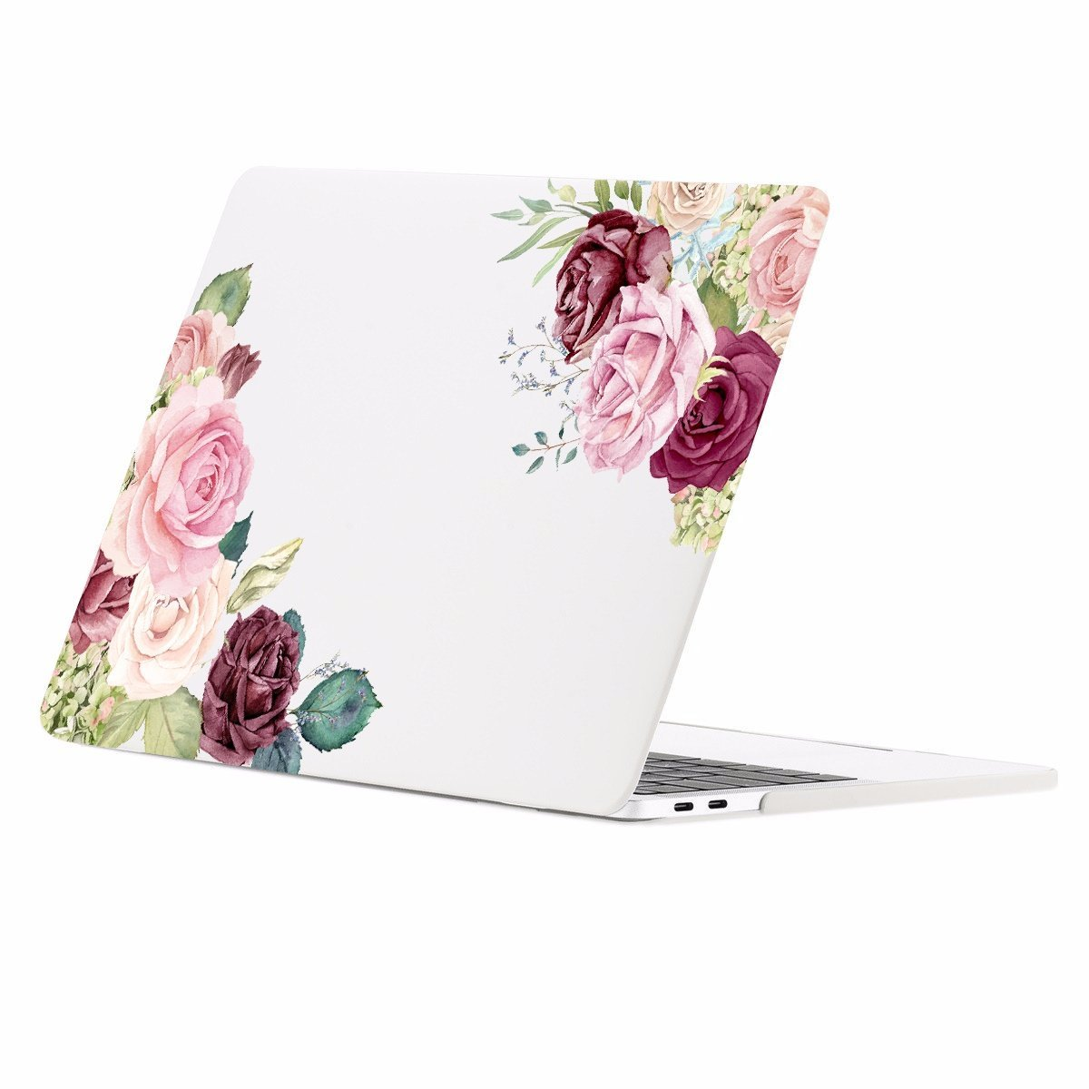 Yellow Black Sunflowers Gold Rose Gold Hard Plastic Glitter Case Cover For Apple Macbook Air 11 13 Macbook 12 Macbook Pro 13 15 Inch 2016 2017 With Retina Display Touch Bar
