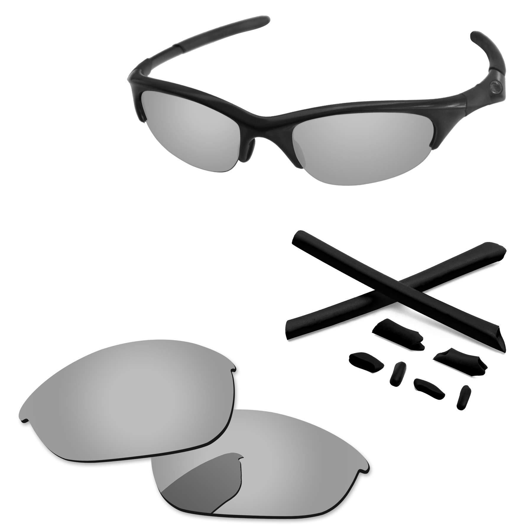 PapaViva Lenses Replacement & Rubber Kits for Oakley Half Jacket