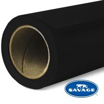 Savage Seamless Background Paper - #20 Black (53 in x 36 ft)