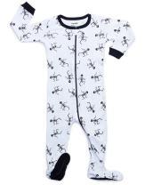 Leveret Baby Boys Girls Footed Pajamas Sleeper Halloween 100% Cotton Kids & Toddler Pjs (0 Months-5 Toddler)