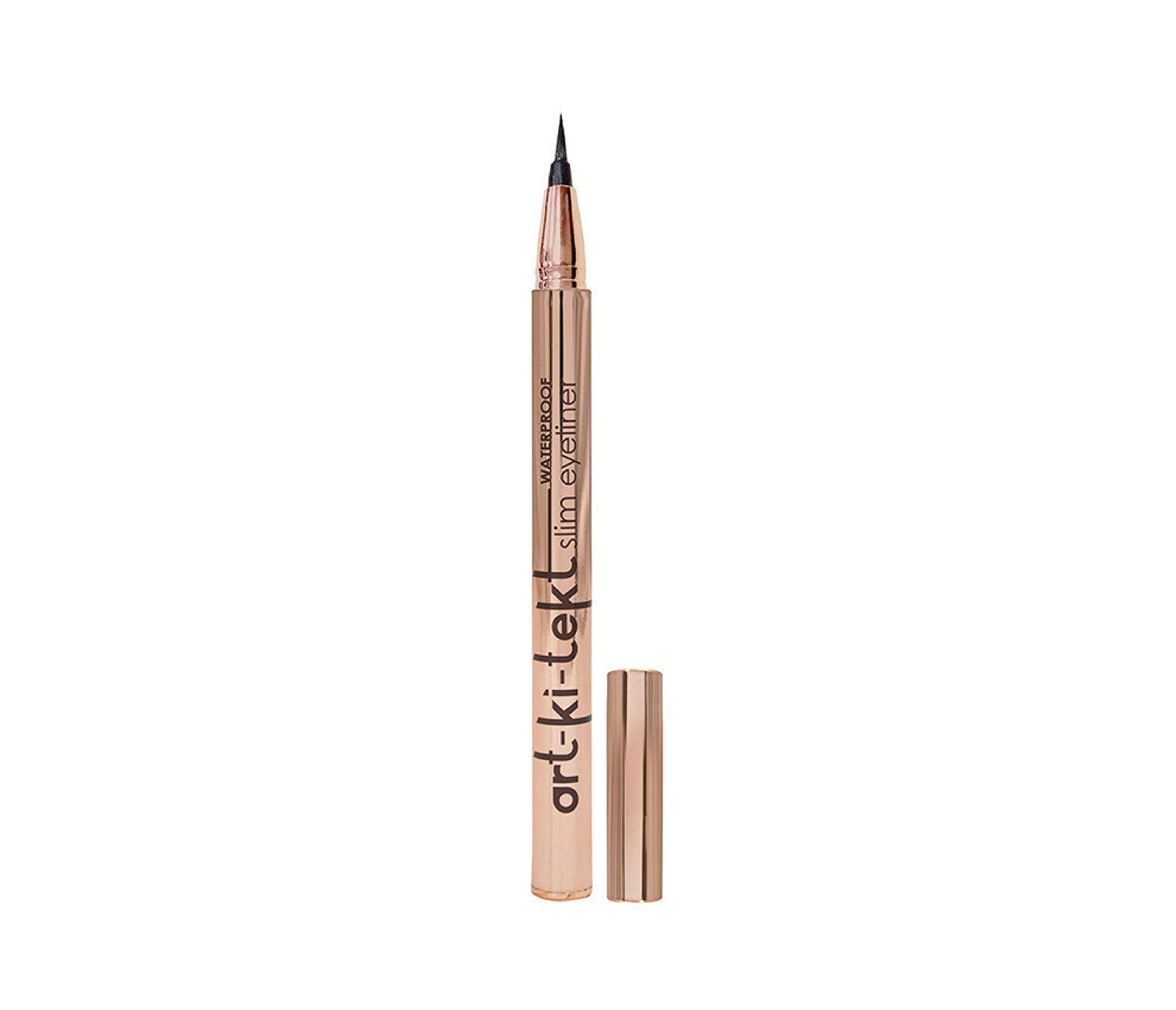 LA Splash Cosmetics Art-Ki-tekt Waterproof&Long-Lasting Slim Black Liquid Eyeliner for Beginners