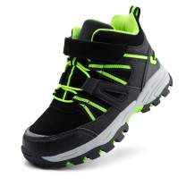 brooman Kids Hiking Boots Boys Girls Outdoor Adventure Shoes