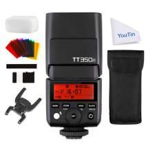 Godox Thinklite Camera Speedlite TT350P - Wireless 2.4G Digital High-Speed-Flashlight Compatible with Pentax K-3II K-50 K-S2 645Z