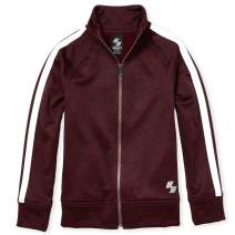 The Children's Place Boys' Big Tapered Track Jacket