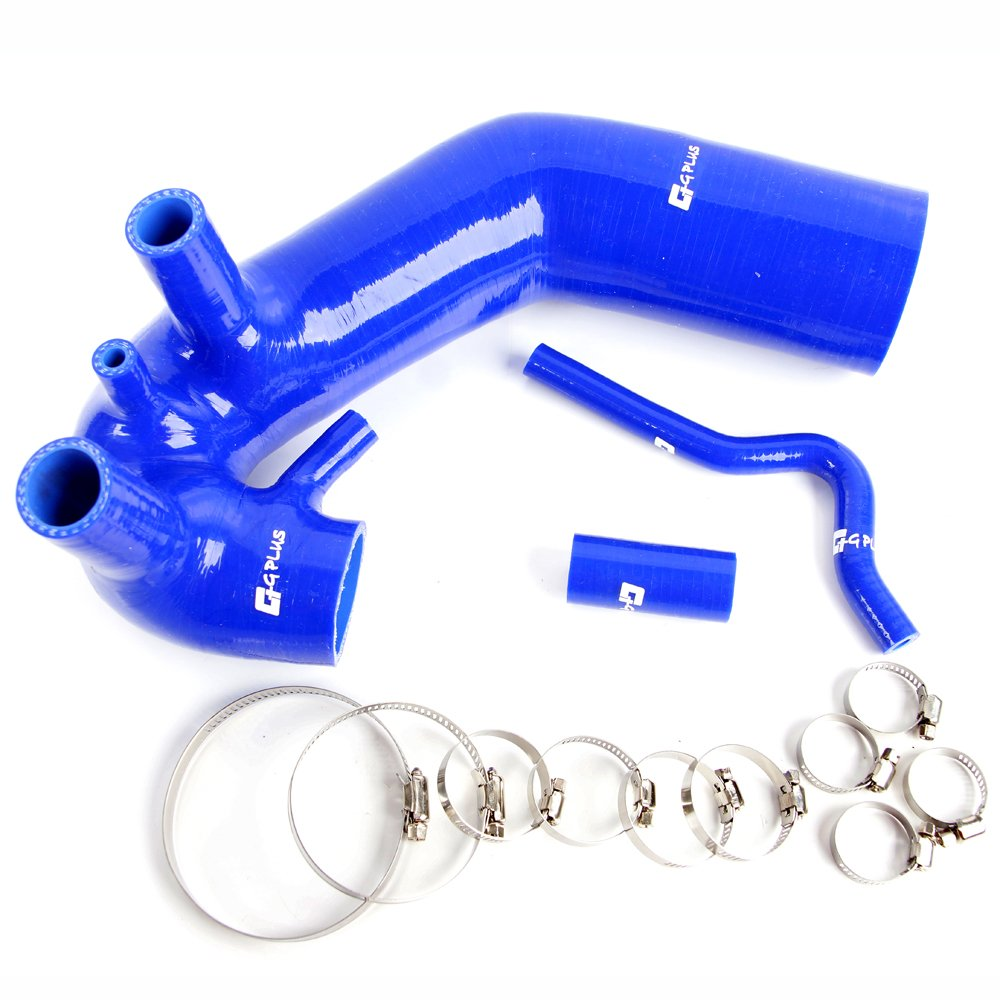 Silicone induction Air intake hose kit Clamps For 1994-2005 AUDI A4 / VW Passat B5 / B5.5 1.8T Blue