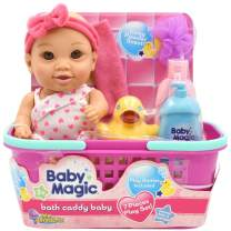 Baby Magic Bath Caddy Brown Eyed Baby Doll, Pink