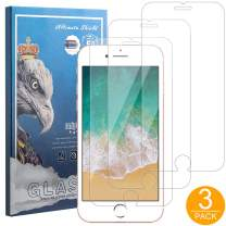 3 Pack Screen Protector HD Clear 9H Hardness Tempered Glass Film for iPhone Xs MAX 6.5 inch