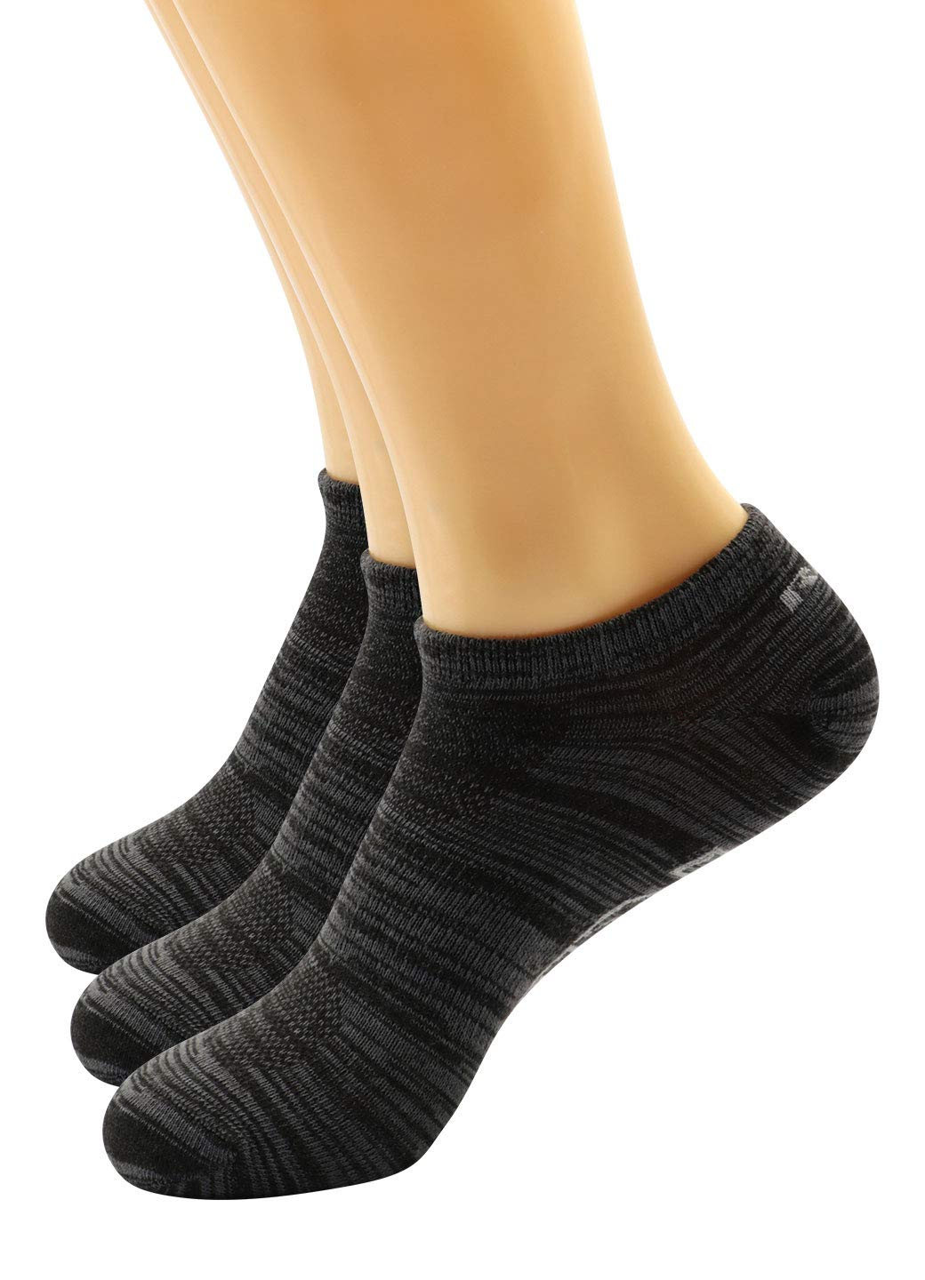 RBX Active Women's Basics 6-Pack Low Cut Ankle No Show Athletic Casual  Everyday Socks