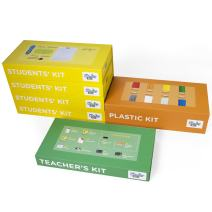 3Doodler EDU Start Learning Pack, Full Set (2019 Version), with X12 3D Printing Pen + X1200 Strands of Plastic Filament + Class Activity Plans
