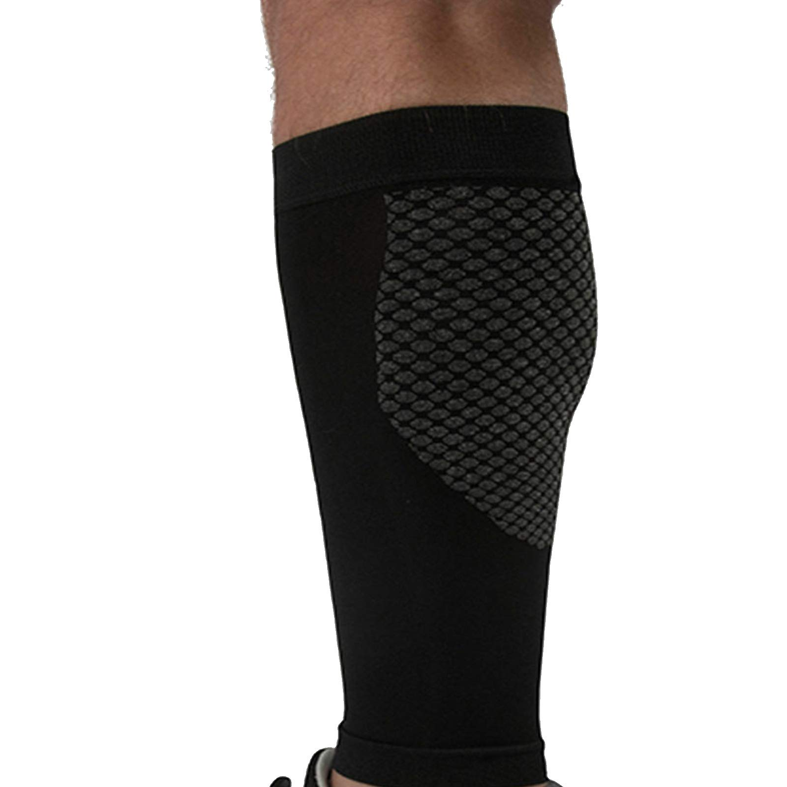 Kinship Comfort Brands® Compression Calf Sleeve Support for Calf Muscle, Shin-Splits and Achilles Pain. Running Accessories for Women Men Compression Calf Sleeves for   1 PR (Available in: S,M,L,XL)