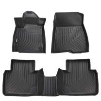 VIWIK Floor Mats for 2018-2020 Honda Accord, TPE Front and Rear Floor Liner Set for Honda Accord, Tough, Durable and Eco-Friendly, 100% Safe