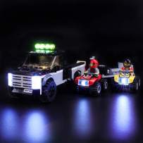LIGHTAILING Light Set for (City ATV Race Team) Building Blocks Model - Led Light kit Compatible with Lego 60148(NOT Included The Model)