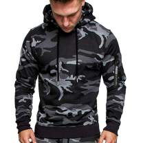 Athletic T-Shirt Hoodie for Men - MorwebVeo Fashion Hooded Pullover Long Sleeve Sweatshirt T-Shirts Blouse with Zipper