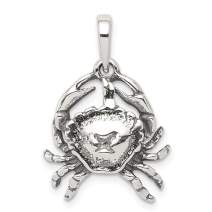 925 Sterling Silver Cancer Pendant Charm Necklace Zodiac Fine Jewelry For Women Gifts For Her