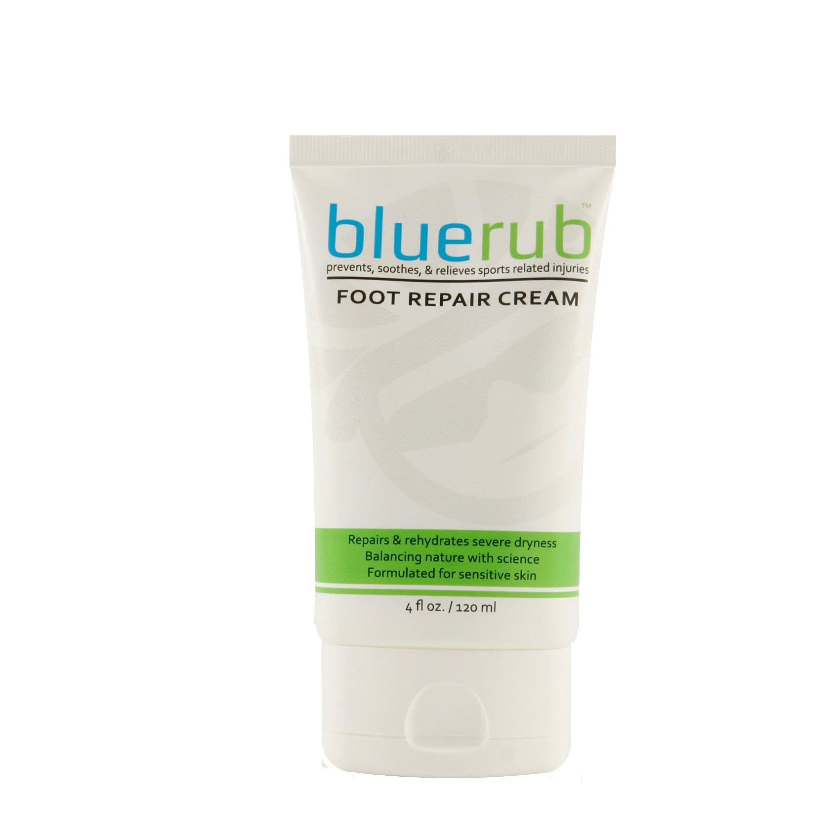 bluerub Foot Repair and Soothing Cream 4 Ounce Tube