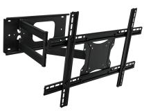 """Mount-It! Full Motion Articulating TV Wall Mount Bracket for 32-70"""" Plasma, LED, LCD Flat Screens up to 100 Pounds and 600x400 VESA, Tilt, Swivel, Extend, Compress"""