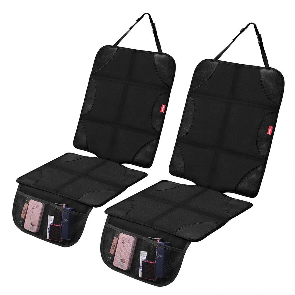 Black INSTANTARTS 2 Piece Multifunction Comfort Backpack Florals Skull Shoulder Pads Seat Belt Pad