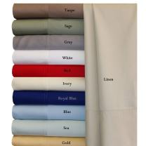 Royal Hotel Queen Periwinkle Silky Soft Bed Sheets 100% Bamboo Viscose Sheet Set