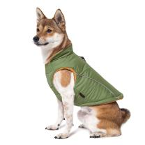 Gooby - Sports Vest, Fleece Lined Small Dog Cold Weather Jacket Coat Sweater with Reflective Lining