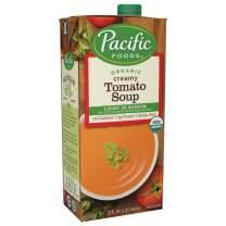 Pacific Foods Light Sodium Creamy Tomato Soup, Organic, 32 Fl Oz